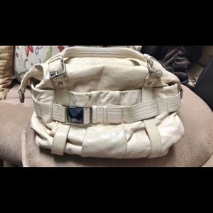 LAamB Distressed leather bag